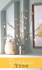 thanksgiving tree decorations diy thanksgiving gratitude tree made from old tree branches and