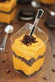 pumpkin pudding parfait best cheap easy thanksgiving snack