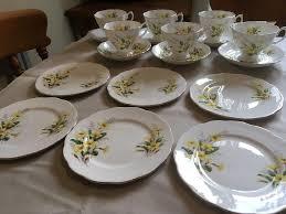vintage tea set 18 vintage tea set by richmond bone china in primrose