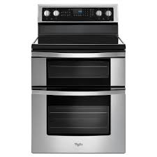 how to light a whirlpool gas oven whirlpool 6 7 cu ft double oven electric range with true