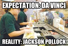 Subway Sandwich Meme - subway sandwich artist memes quickmeme