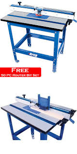 kreg prs1045 precision router table system joiners 20780 kreg prs1045 precision router table system wood