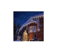 snowing icicle outdoor lights christmas white led snowing icicle lights party wedding xmas bright