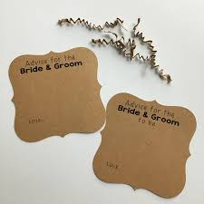 Advice Cards For Bride Advice Cards Advice Cards For The Bride U0026 Groom Wedding Advice