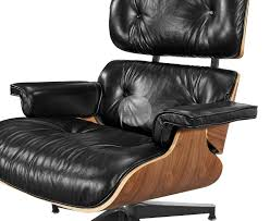 replica eames lounge chair full aniline leather platinum edition
