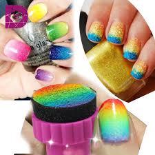 aliexpress com buy 1set nail art sponge stamp stamping for