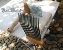 carding comb wool comb carding comb with mounts work to order from