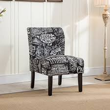 Black Living Room Chairs Fabric Black Living Room Accent Chairs