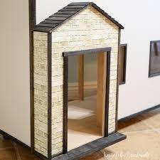 Dollhouse Decorating by Handmade Dollhouse Exterior A Houseful Of Handmade