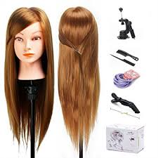 hairstyles to do on manikin amazon com mannequin head 20 inch long hair cosmetology