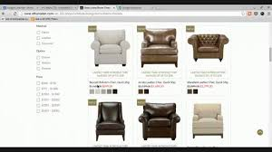 Ethan Allen Leather Chairs Ethan Allen Townsend Leather Recliner Youtube