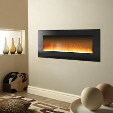 flamelux 23 in w 1500 watt wall mount electric fireplace insert