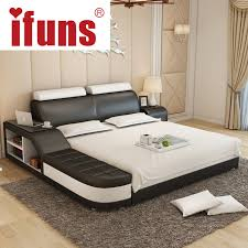 Luxury Bed Frame Name Ifuns Luxury Bedroom Furniture Modern Design King Size