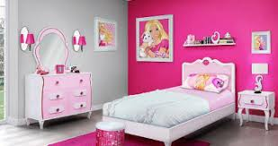 barbie 4 piece bedroom in a box furniture set twin bed toysrus