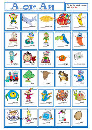 a or an learning english pinterest english worksheets and