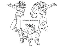 pokemon coloring pages team rocket pokemon coloring pages team