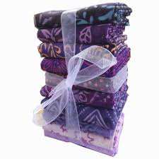 batik quarter bundle purples sew store