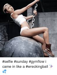 Gym Flow Meme - ソ selfie sunday gymflow i came in like a wreckingball funny
