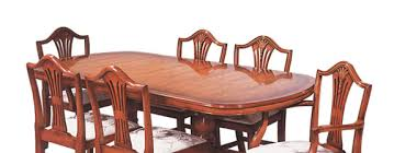Yew Dining Table And Chairs Collection