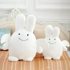 stuffed bunny kawaii kids angel bunny doll stuffed rabbit plush toys