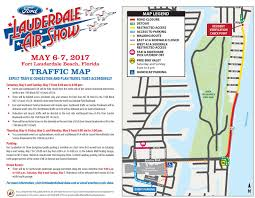 Map Of Ft Lauderdale City Of Fort Lauderdale Fl City News Fort Lauderdale Air Show