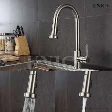 kitchen faucets vancouver unic unicplus
