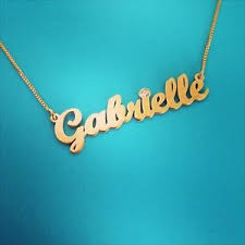 14 karat gold nameplate necklaces 14 karat gold chain 14k gold nameplate necklace 14 ct 14 carat