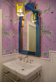 Wallpaper Ideas For Small Bathroom 91 Best Wallpaper Love Images On Pinterest Wallpaper Bathroom