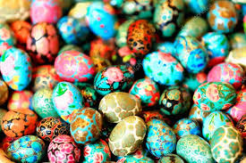 painted easter eggs for sale colorist painted easter eggs kathmandu nepal 2039 stock
