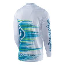 tld motocross gear 30412810 tld 17 gp air jersey electro white lusty industries