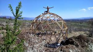 geodome house building a geodome house youtube