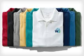 custom polo shirts with embroidered logos l l bean business