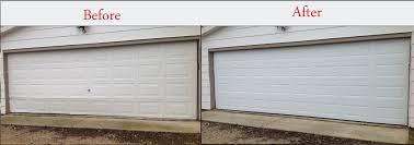 wood composite garage doors garage doors before and after garage door installation aladdin doors
