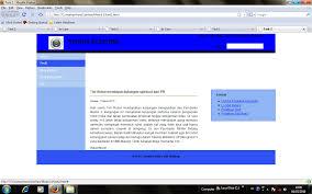 membuat web html membuat tilan web front sederhana carpe diem