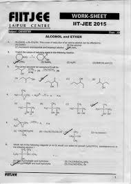 worksheet alcohol ether and phenols check the answers with