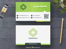 minimal business card template freebcard
