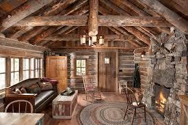 log cabin floors authentic log cabin exquisitely restored to 1900 s splendor