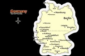 map of gemany german cities map best places to visit in germany