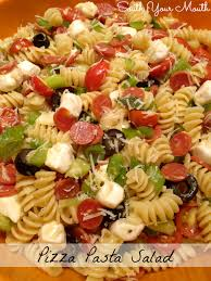 pizza pasta salad pizza pasta salads pasta salad and salad