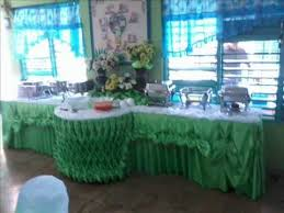 Buffet Set Up by Apache Catering Set Up And Buffet Skirting Youtube