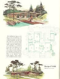 Mid Century Modern House Plan 77 Best Mcm Ads Plans Brochures Images On Pinterest