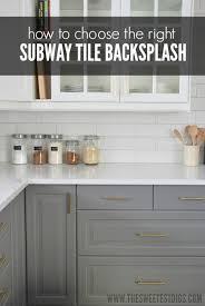 how to choose kitchen backsplash best best kitchen tile backsplash