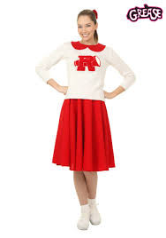women u0027s grease rydell high cheerleader costume cheerleader