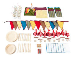 party goods woodland party inhabitots