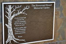 memorial plaques garden plaques in memory of home outdoor decoration