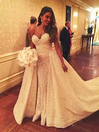 design wedding dress sofia vergara s wedding dress details