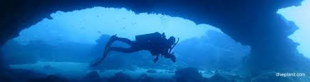 west white beach cave dive site christmas island indian ocean