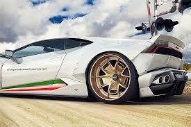 Lamborghini Huracan Gold - gwa tuning gives the lamborghini huracan a mean makeover motor1