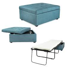 Navy Ottoman Barrel Chair Footstool Bed Chair That Folds Into A Bed Sleeper