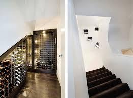 Under Stair Bar by Marvellous Modern Staircase Wall Design Modern Stair Railing